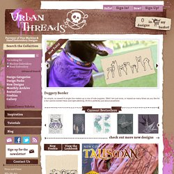 Embroidery Designs at Urban Threads - Home