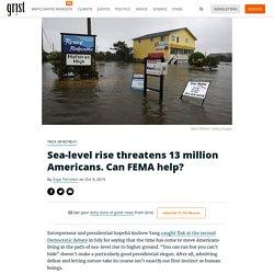 Sea-level rise threatens 13 million Americans. Can FEMA help?
