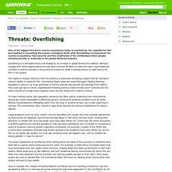 Threats: Overfishing