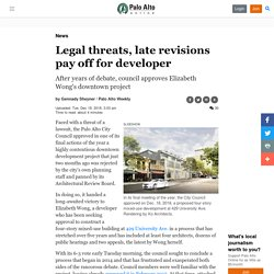 Legal threats, late revisions pay off for developer