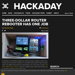 Three-Dollar Router Rebooter Has One Job