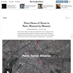 The Attacks in Paris: What Happened at Each Location