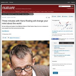 Three minutes with Hans Rosling will change your mind about the world