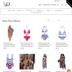 Three Piece Bikinis