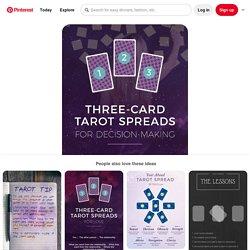 Tarot spreads, Biddy tarot, Reading tarot cards