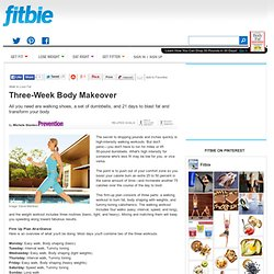 Three-Week Body Makeover