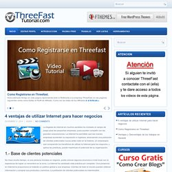 En esta pagina aprenderas todo lo que necesitas saber para trabajar en la empresa Threefast