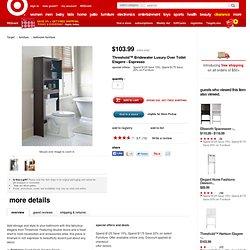 Threshold™ Bridewater Luxury Over Toilet Etagere...