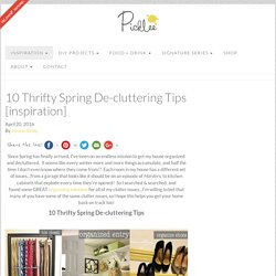 10 Thrifty Spring De-cluttering Tips [inspiration] - Picklee