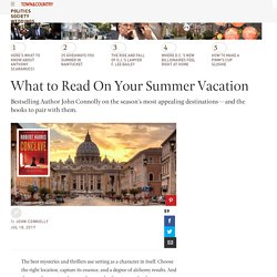 Best Thrillers, Mysteries for Summer - What to Read on Summer Vacation