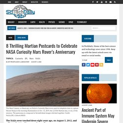 8 Thrilling Martian Postcards to Celebrate NASA Curiosity Mars Rover's Anniversary