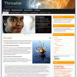 Thrivable.net » Adapt & Thrive