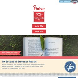 Thrive's List of 10 Summer Reads