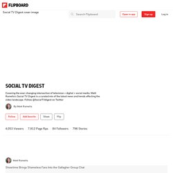 5 Thriving Social TV Apps