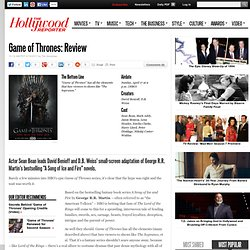 Game of Thrones: TV Review