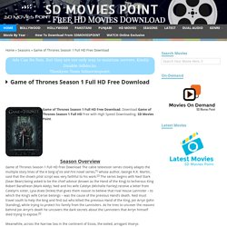 Download game of thrones full season - Daily Post Newz
