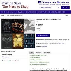 Game Of Thrones Seasons 1-6 (DVD) – Pristine Sales