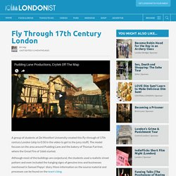 Fly Through 17th Century London