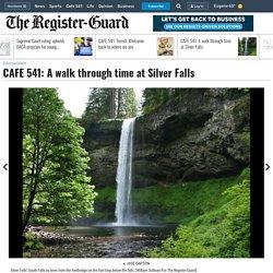 A walk through time at Silver Falls - , OR