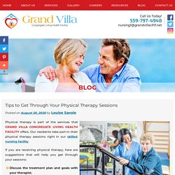 Tips to Get Through Your Physical Therapy Sessions
