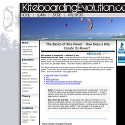 Kite Power - Work Your Way Through Problems by Understanding How Kites Work