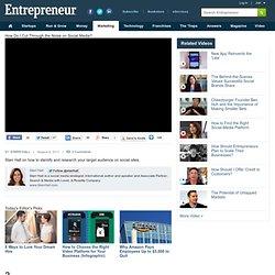 How Do I Cut Through the Noise on Social Media? - Entrepreneur Video Network - Entrepreneur.com