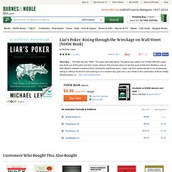 Liar's Poker, Michael Lewis, (9780393066258) NOOKbook (eBook) - Barnes & Noble