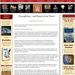 Throughlines - and How to Use Them!