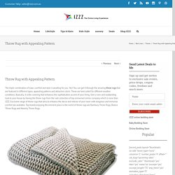 Throw Rug with Appealing Pattern - Izzz Blog