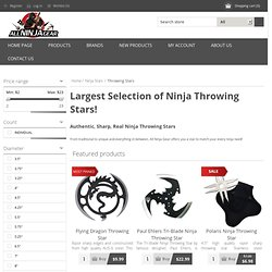 All Ninja Gear: Largest Selection of Ninja Weapons