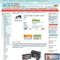 Thuốc lá điện tử Health Giá Rẻ Nhất VN ĐT 04.66.59.79.80, Thuốc lá điện tử Health - Hộp 2 điếu, thuoc la dien tu Health