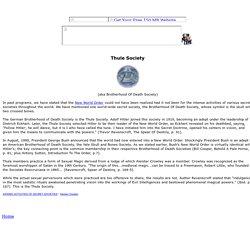 Thule Society