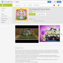 Thumbelina:3D Popup Book - Android Apps on Google Play