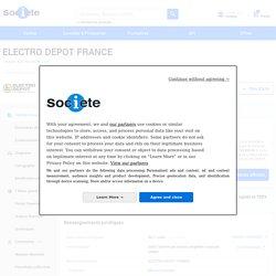 ELECTRO DEPOT FRANCE (FACHES-THUMESNIL) Chiffre d'affaires, résultat, bilans sur SOCIETE.COM - 433744539
