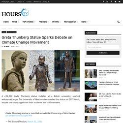 Greta Thunberg Statue Sparks Debate on Climate Change Movement