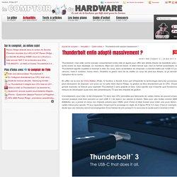 Thunderbolt enfin adopté massivement ?