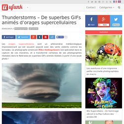 Thunderstorms – De superbes GIFs animés d'orages supercellulaires