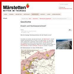 mitten-im-thurgau.ch - Eiszeit und Hochwasserschutz?