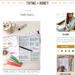 Daily Pages… | Life's A Journal