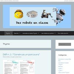 Des robots en classe