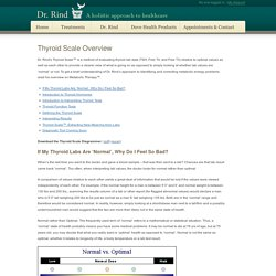 Thyroid Scale Overview