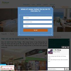Tiện ích căn hộ Gold Coast Nha Trang