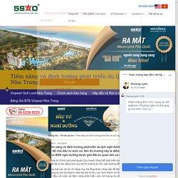 Tiềm năng và định hướng phát triển du lịch nghỉ dưỡng Nha Trang – Biệt thự biển Nha Trang