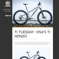 Ti Tuesday: Visa's Ti Honzo