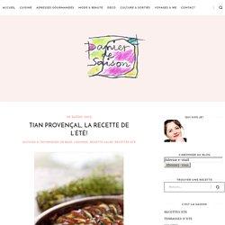 Tian Provençal, la recette de l'été!