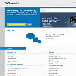 Developer Network - TIBCO Business Studio™