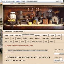 TIBERIS : Cocina tradicional menorquina