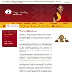 Tibetan Buddhism - Nangten Menlang International