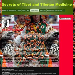 Tibetan medicine - Secrets of Tibet and Tibetan Medicine