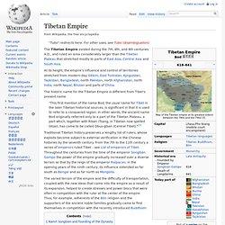 Tibetan Empire